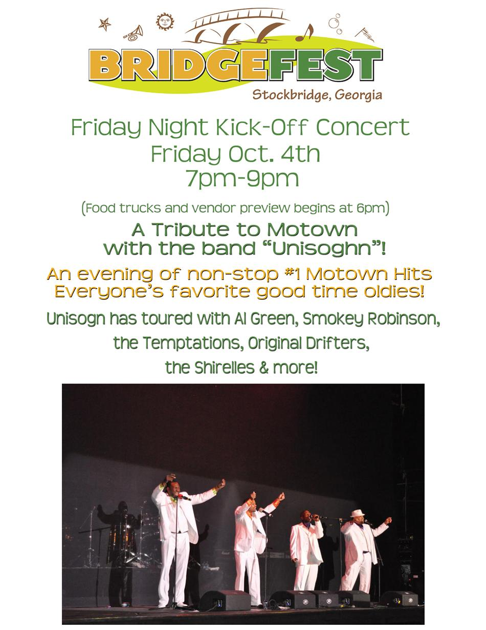 Friday Night Kick-Off Concert Page
